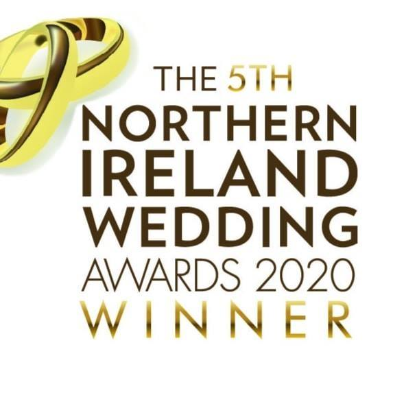 2020 Northern Ireland Wedding Awards Winner